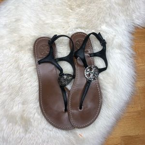 Tory Burch Bejeweled Sandals
